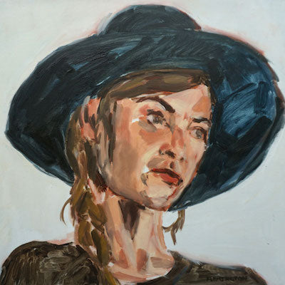 Leigh with Hat by Kristen Flemington for $450