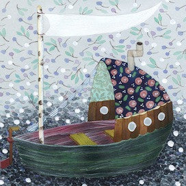 Blossom Sailing by Anna Emilia Laitinen for $550