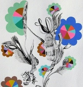 Flower Power 5 by Rebeca Raney for $275