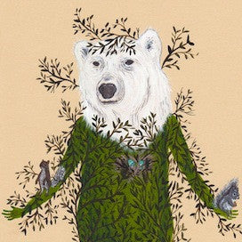 Friendly Polar Bear by Drew Mosley for $200