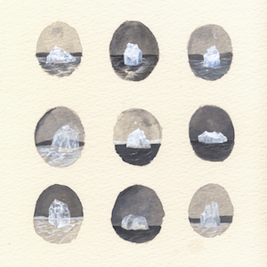 Many Icebergs by Rebecca Chaperon for $325