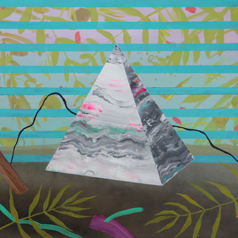 Pyramid by Michelle Fleck for $375