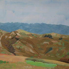 Huaraz Fields by Rachel Sitkin for $350