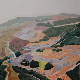 Mined Canyon by Rachel Sitkin for $350