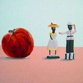 Tomato-Man-Woman by Jane Schmidt for $275