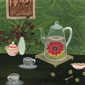 Tea Blossoms by Becca Stadtlander for $325