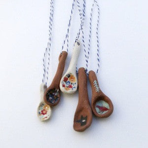 Spoon Necklaces by Sarah Burwash for $20