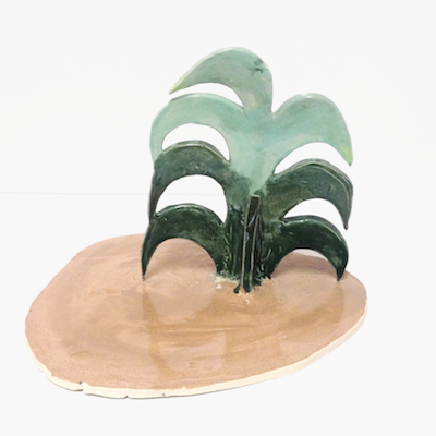 Green Palm by Sarah Burwash for $225