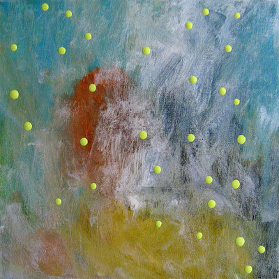 Chimeric Light Green by Nathalie Chikhi for $250