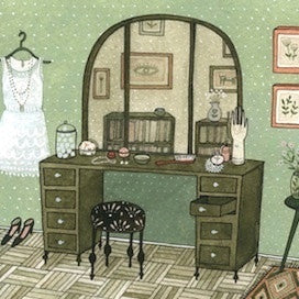 Dressing Room by Yelena Bryksenkova for $325