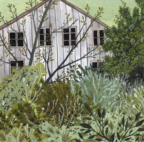 The Overgrown Garden by Becca Stadtlander for $200