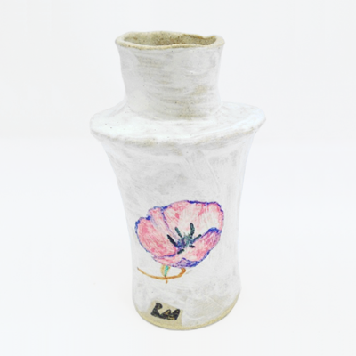 Tiered White Vase by Rebekah Miles for $250
