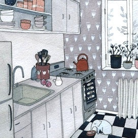 Kitchen by Yelena Bryksenkova for $325