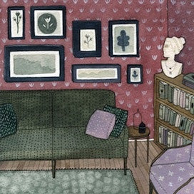 Living Room by Yelena Bryksenkova for $325
