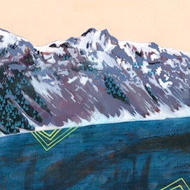Mountain Rim by Cathy McMurray for $225