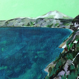 Lake Ridge by Cathy McMurray for $225