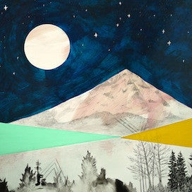 Sleeping Mountain by Cathy McMurray for $400