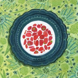 Strawberries And Cream by Becca Stadtlander for $300