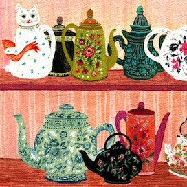 Teapot Collection by Becca Stadtlander for $300