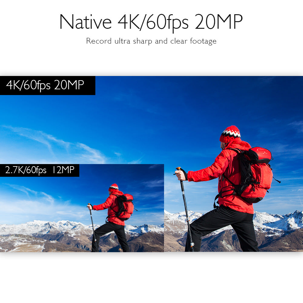 AKASO V50 Elite 4K60fps Touch Screen WiFi Action Camera