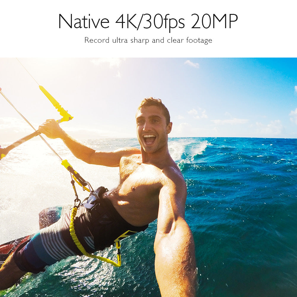 AKASO V50 Pro Native 4K30fps 20MP WiFi Action Camera