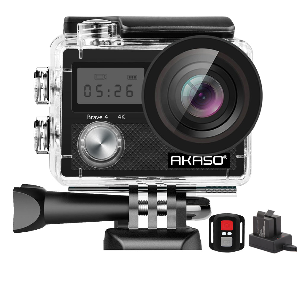 AKASO Brave 4 4K Underwater Waterproof Camera