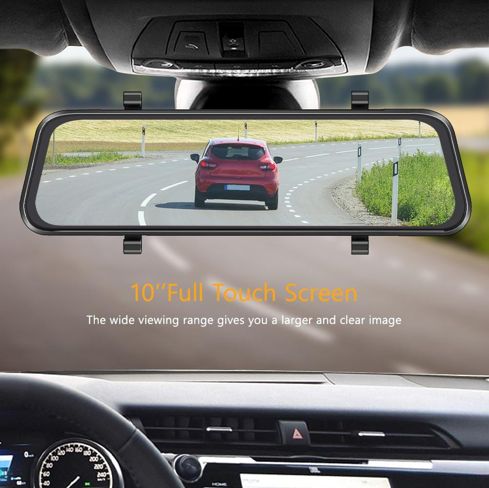 AKASO DL9 Mirror Stream Media Touch Screen Dash Cam