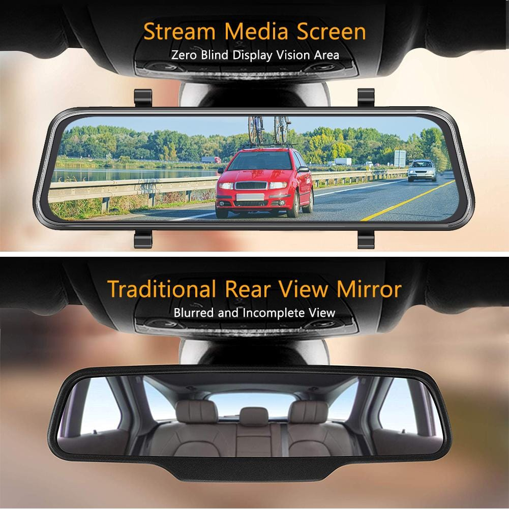 AKASO DL9 Mirror Stream Screen Dash Cam