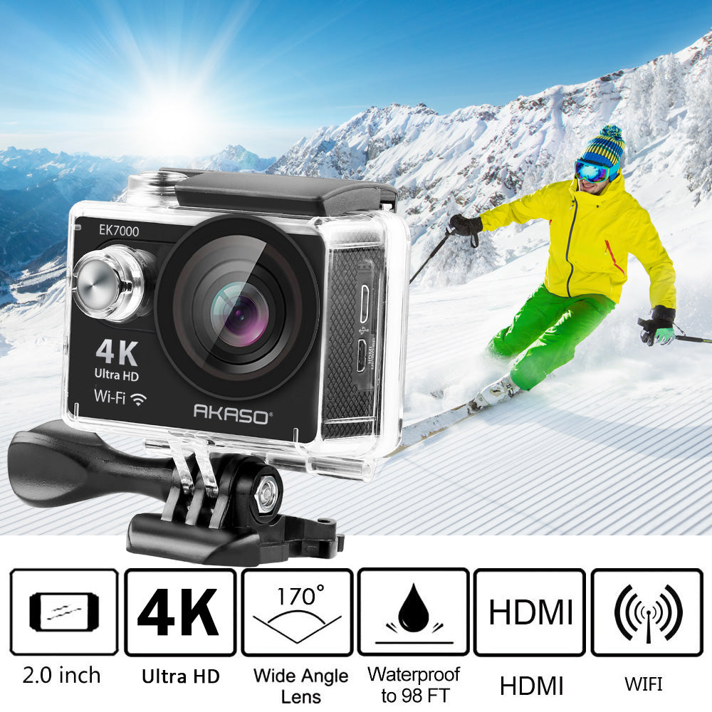 AKASO EK7000 4K WiFi Sports Action Camera | AKASO