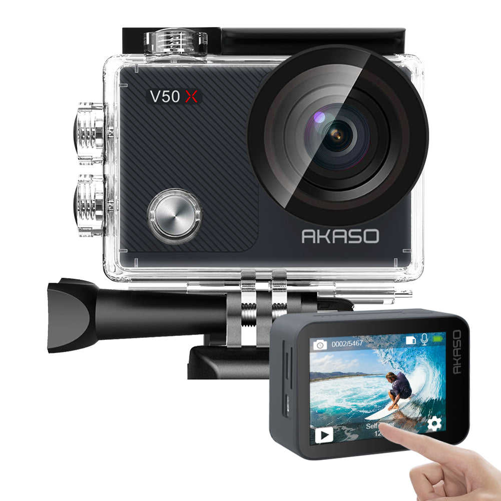 AKASO V50X Native 4K30fps WiFi Action Camera