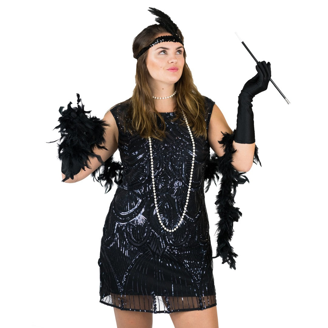 Accesorios Flapper Girl 20's para mujer