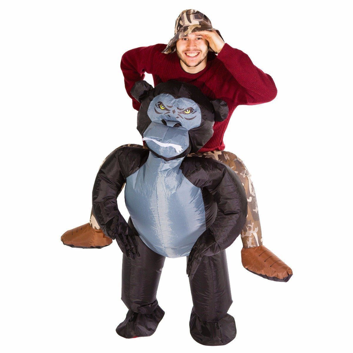 Fancy Dress - Inflatable Gorilla Costume