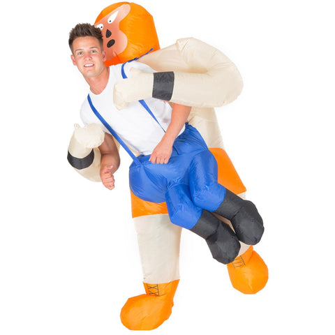 Fancy Dress - Inflatable Mexican Wrestler Costume