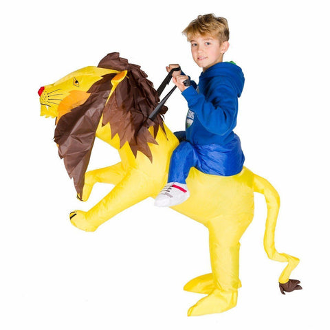 Fancy Dress - Kids Inflatable Lion Costume