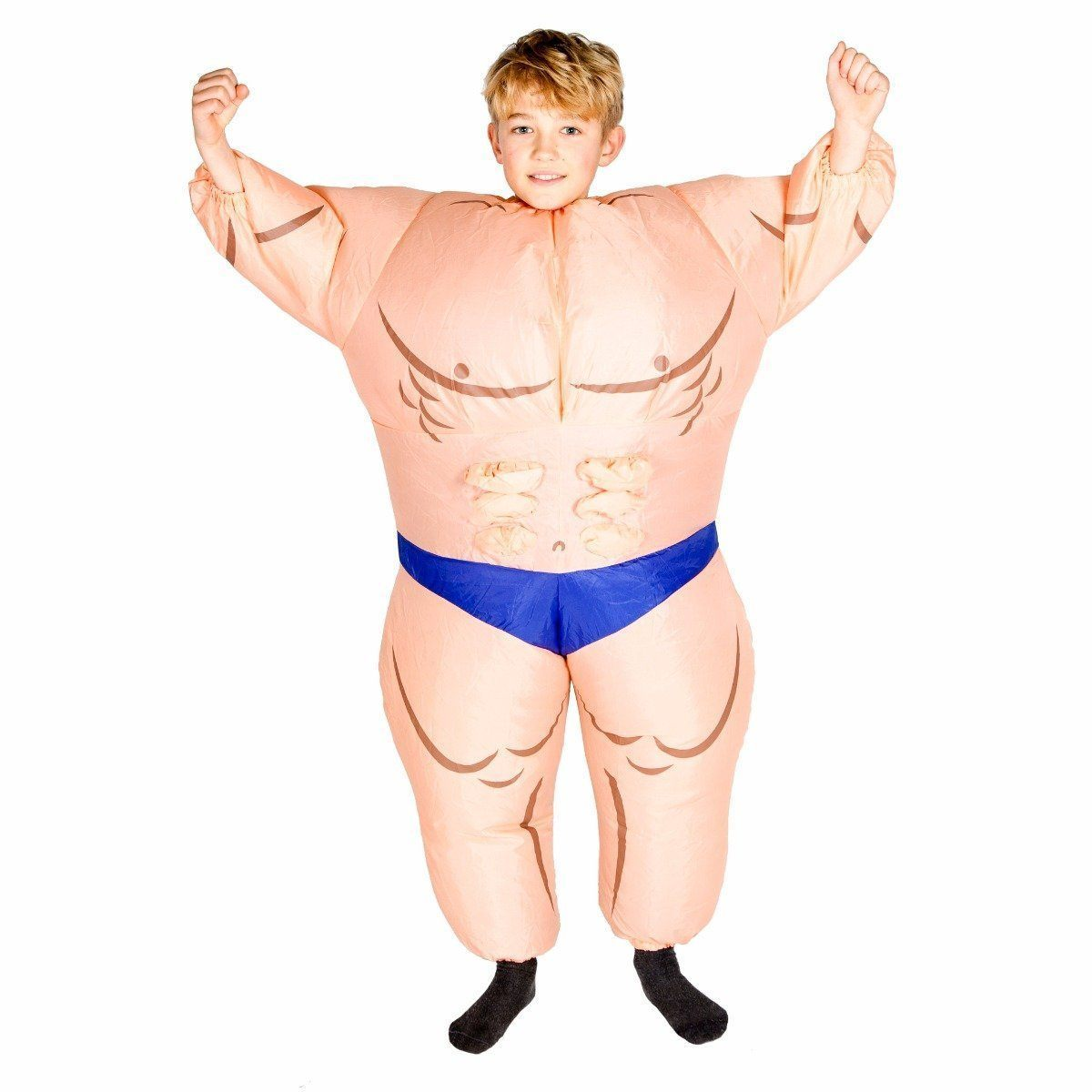 Fancy Dress - Kids Inflatable Muscle Suit Costume