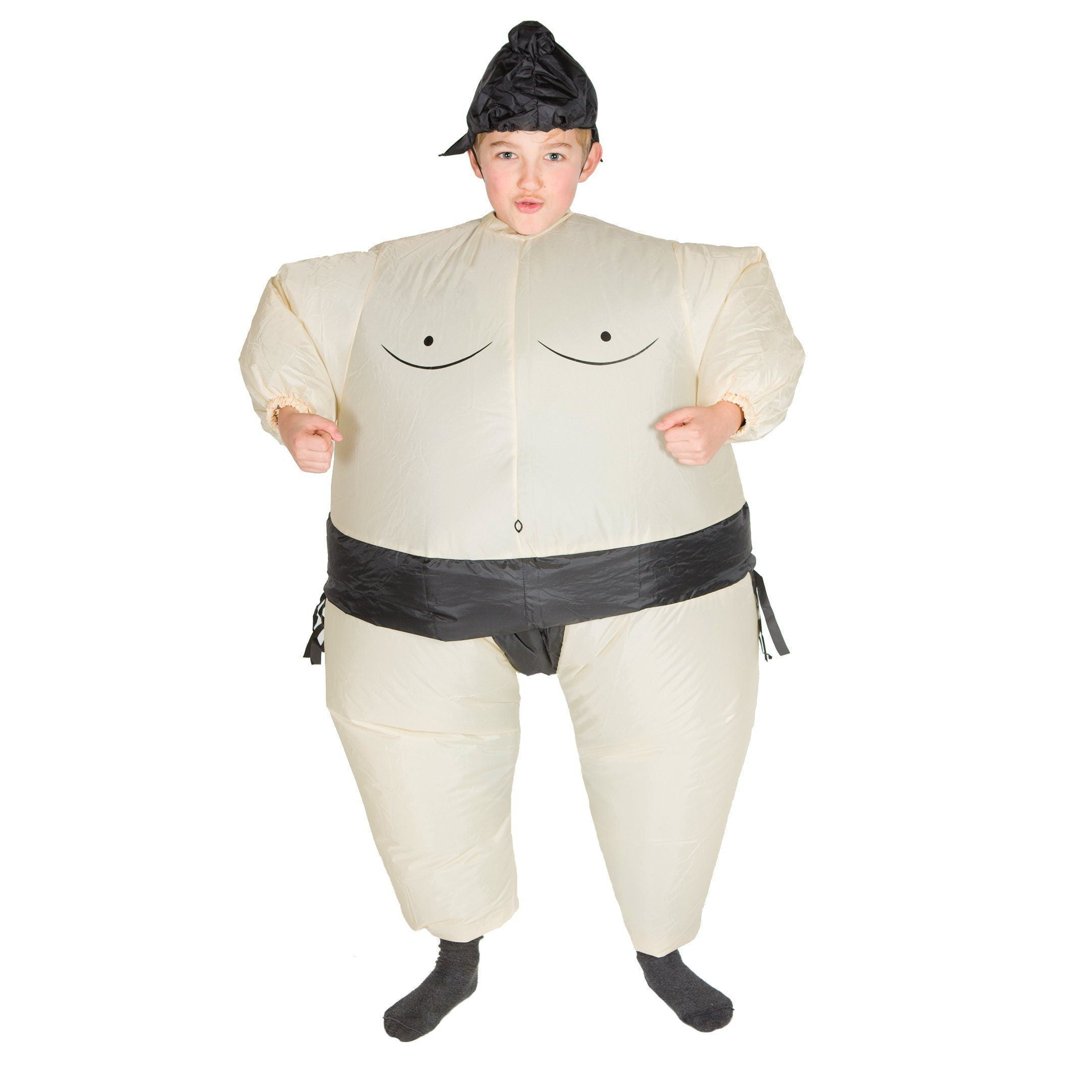 Fancy Dress - Kids Inflatable Sumo Wrestler Costume