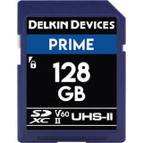 Delkin Devices 128GB UHS-II SDXC 1900X Memory Card