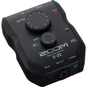 Zoom U-22 - Interfaz Audio Portable