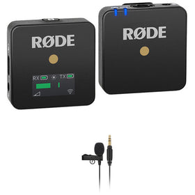 Rode Wireless GO Compact Wireless Omni Lavalier Microphone System Kit (2.4 GHz)