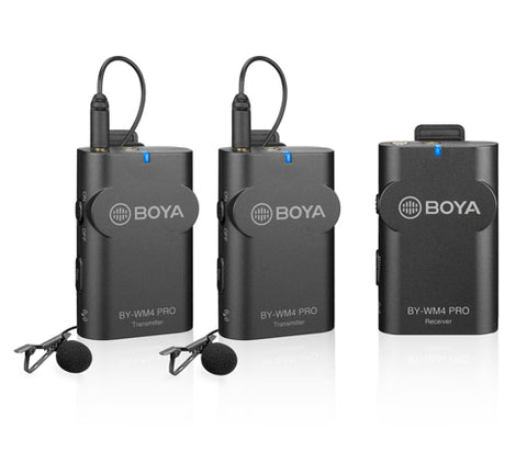BOYA by-WM4 PRO K2 Wireless Lavalier Microphone