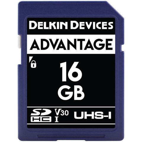 Delkin Devices 16GB SDHC UHS-1 633X Memory Card