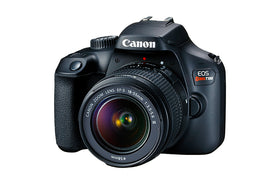 Canon EOS Rebel T100 with 18-55mm kit