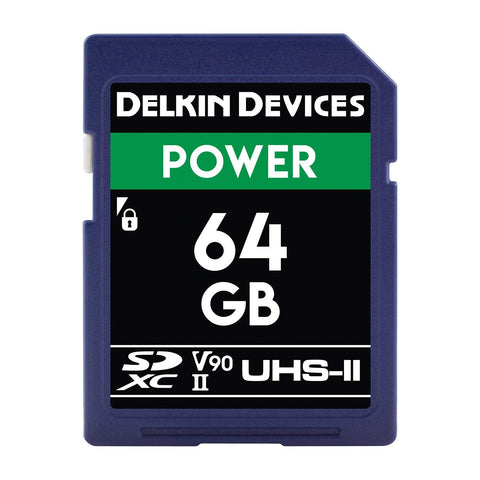Delkin Devices 64GB UHS-II 2000X Memory Card