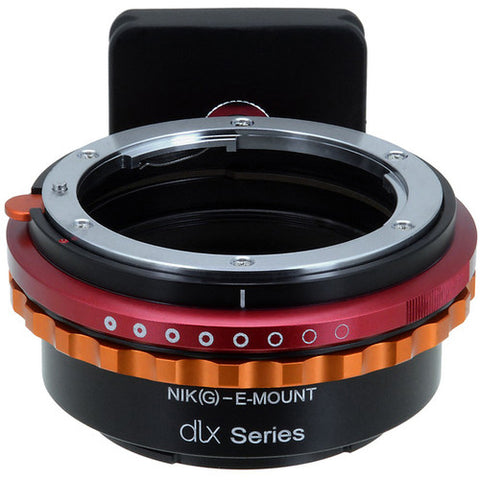 Fotodiox Lens Mount Nikon F G  to Sony Camera DLX Series Adapter