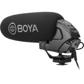 BOYA BY-BM 3031 On-Camera Supercardioid Shotgun Microphone