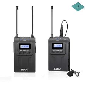 BOYA by-WM8 Pro-K1 UHF Wireless Microphone System 48 Channels Mono/Stereo