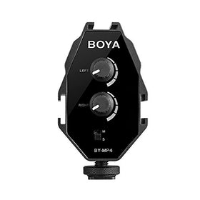 BOYA by-MP4 2-Channel Mono Stereo Mode Audio Adapter