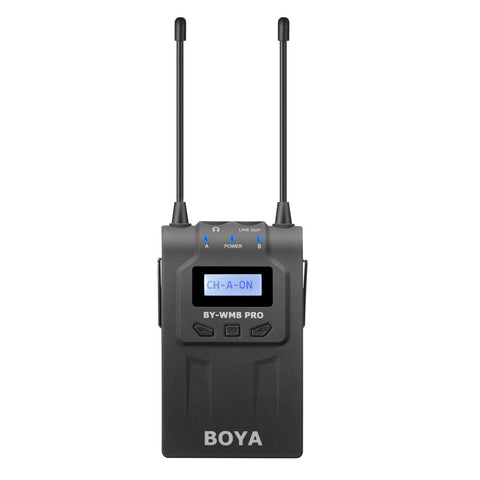 BOYA RX8 Pro Dual-channel Wireless Bodypack Receiver Unit