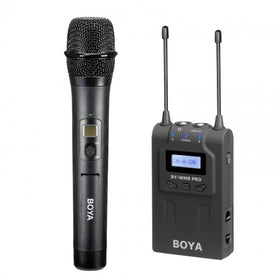 BOYA WM8 PRO-K3 Wireless Mic with One Receiver and One Handheld Microphone