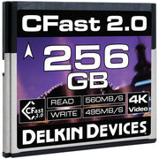 Delkin Devices 256GB Cinema CFast 2.0 Memory Card